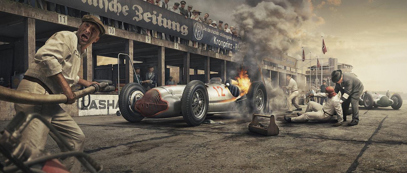 Огонь и Авария — NÜRBURING, Германия – 24 Июля 1938