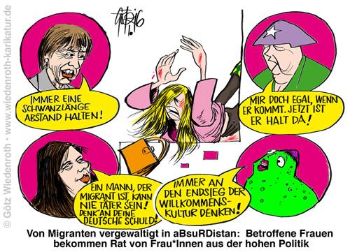 PK160106_Migrantengewalt_Silvester_Vergewaltigung_Frauen_Politik