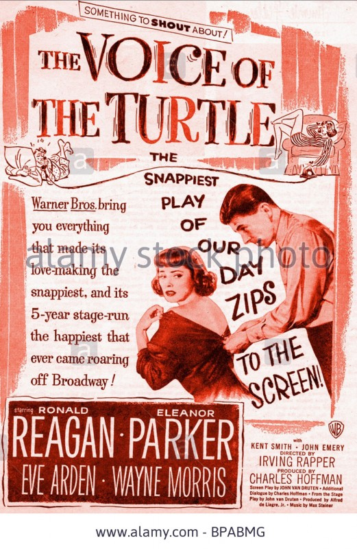 eleanor-parker-ronald-reagan-poster-the-voice-of-the-turtle-1947-BPABMG