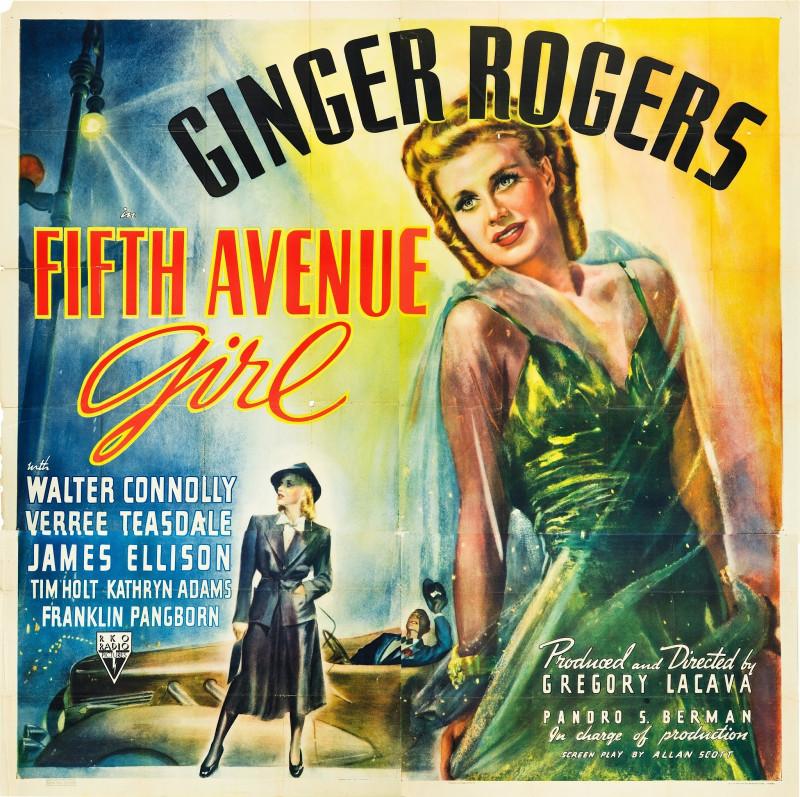 1939 Fifth avenue girl - La muchacha de la quinta avenida (ing) (ss)