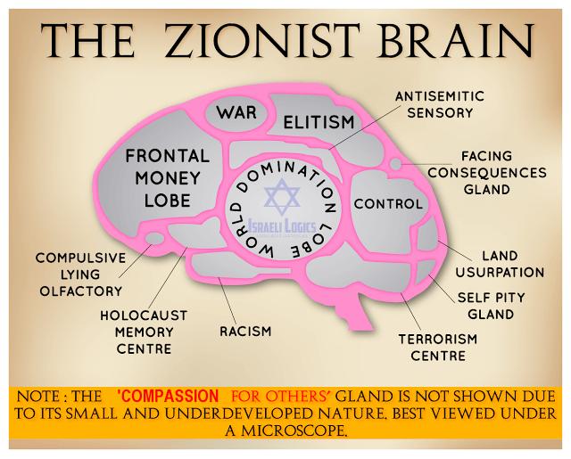 zionist-brain