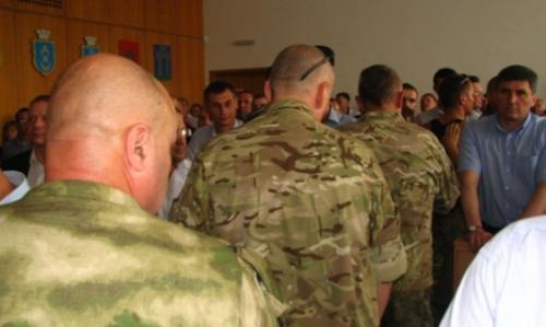 спецназ в Ровно