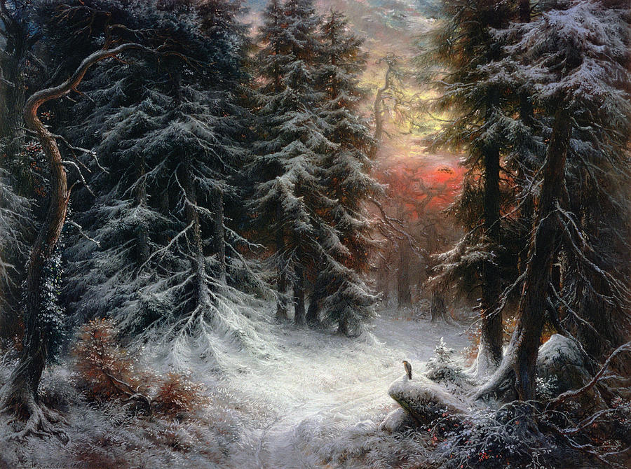 snow-scene-in-the-black-forest-carl-friedrich-wilhelm-trautschold