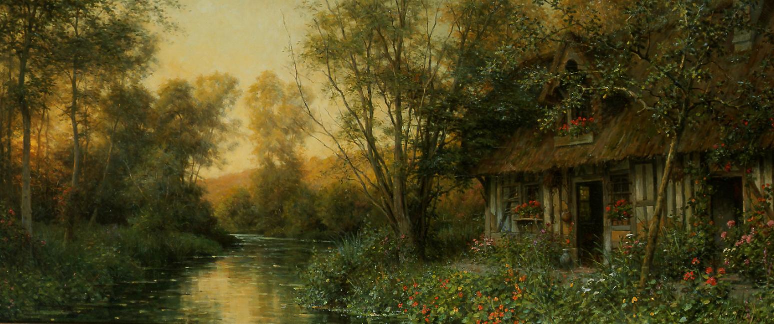 Louis Aston Knight Diane's Cottage, Beaumont-le-Roger