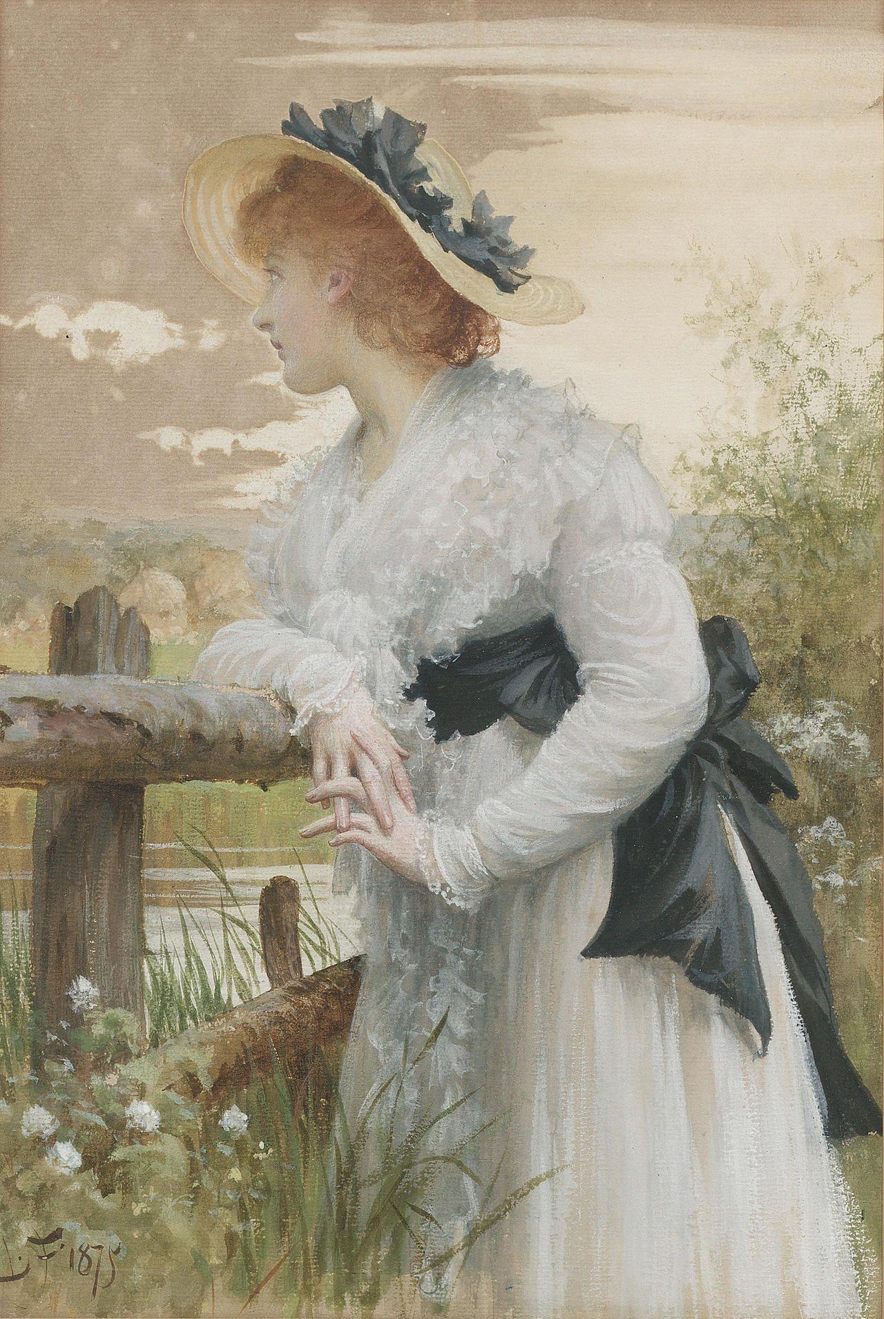 Samuel Luke Fildes Sophia