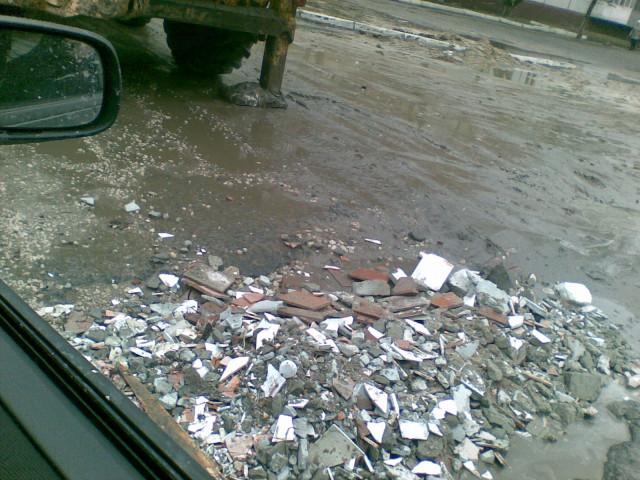 Ремонт дорог в Брянске
