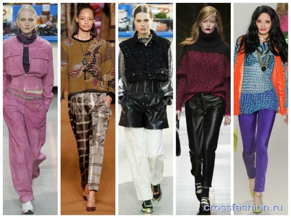 Модные Брюки 2015 Женские Осень Доставка