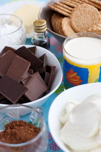 Чизкейк шоколадный 2