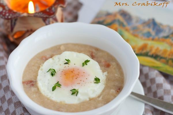 Суп чесночный 1