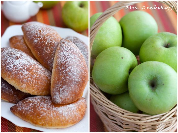 Пирожки с яблоками 1