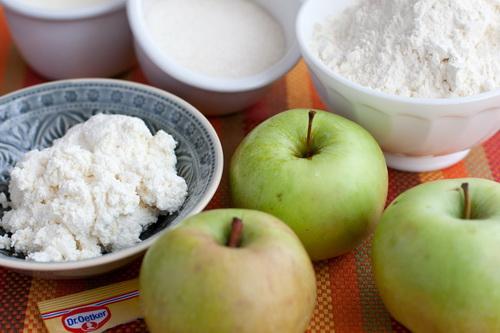 Пирожки с яблоками 2