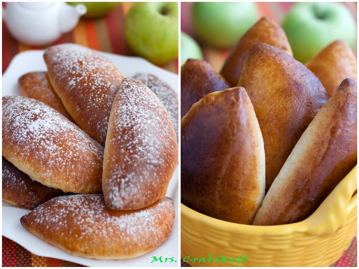 Пирожки с яблоками 9