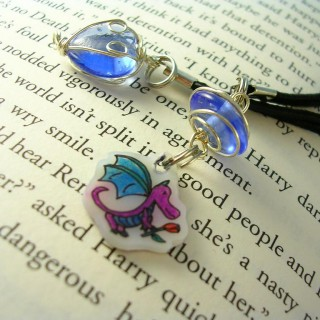 OOAK Dragonling Bookmark