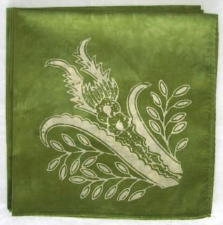 Batik Thistle Napkins