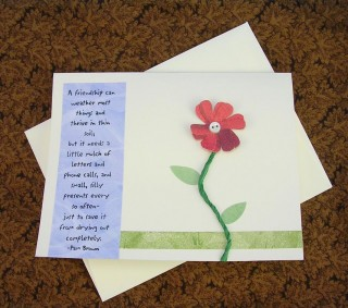 Friendship Grows Card