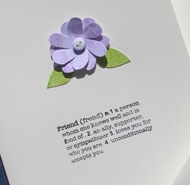 Mixed Set of Three Correspondence Cards-Purple Palette