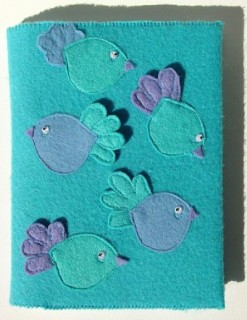 Turquoise Photo Album Birds