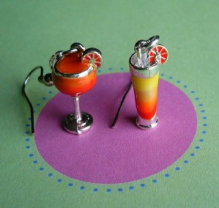 Citrus Burst Cocktail Earrings by mack