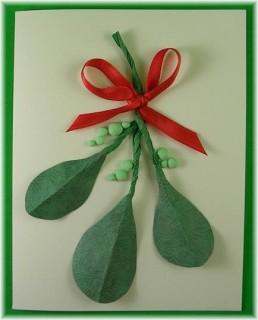 Mistletoe- Blank Inside