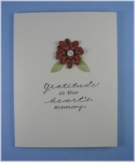 Gratitude Note Card