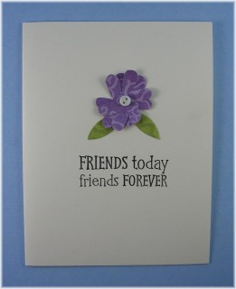 Friends Forever Note Card