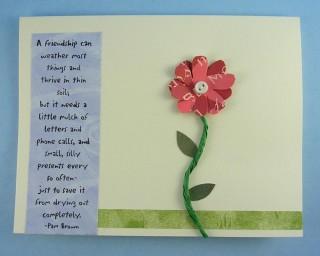 Friendship Grows Card