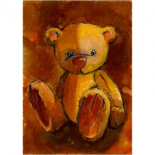 Artan Teddy Bear. ACEO