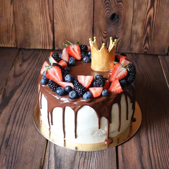 Современный дизайн торт