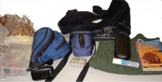 Contents of the black bag
