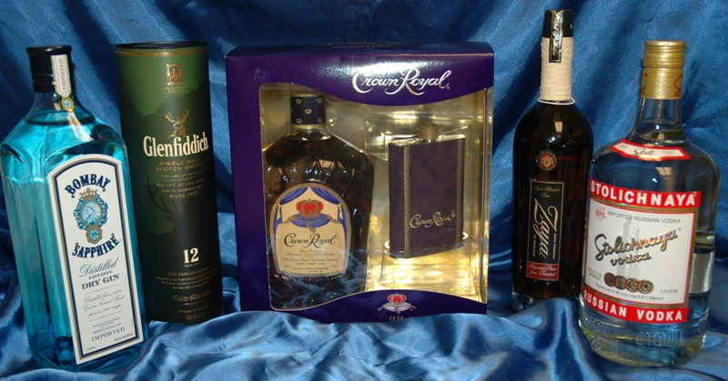 Premium Liquor Basket