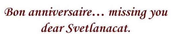 "svetlanacat""s birthday"