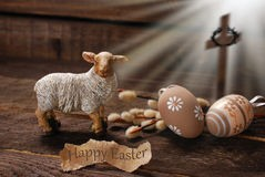 easter-concept-lamb-cross-symbol-light-rays-as-sacrifice-offered-to-god-51353074
