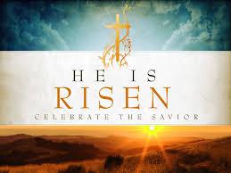 Easter christ is risen