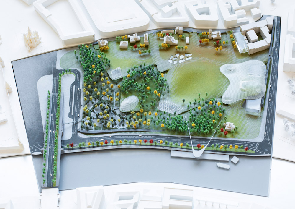 Проект-победитель конкурса на концепцию парка