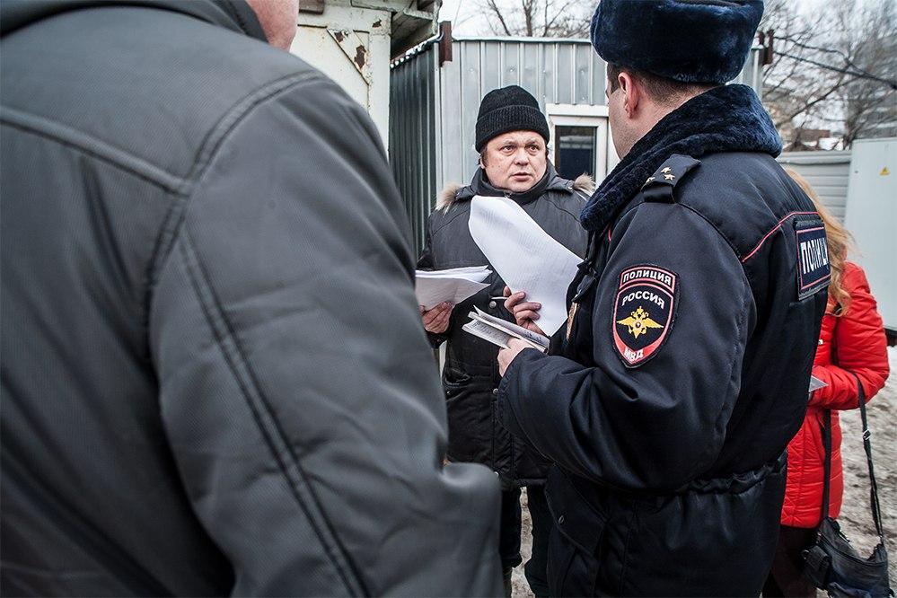 Ильинская 114 - Станислав Дмитриевский и полиция