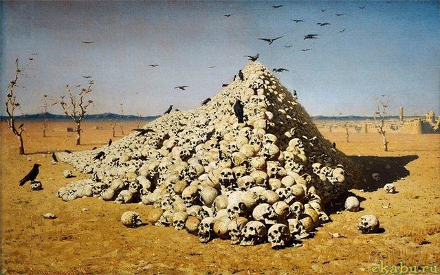 В.Верещагин. Апофеоз войны (1871)