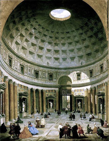 466px-Pantheon-panini