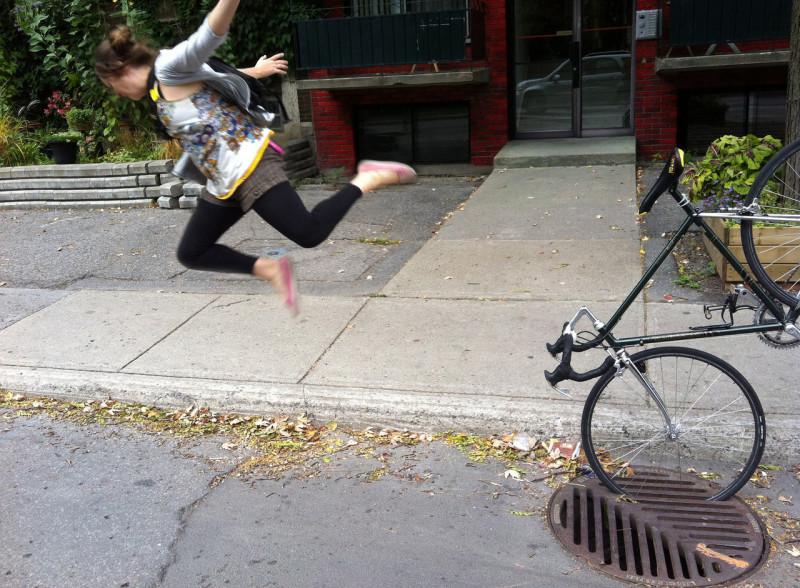 Вот примерно так я летела со своего коня ))) Фото из инета