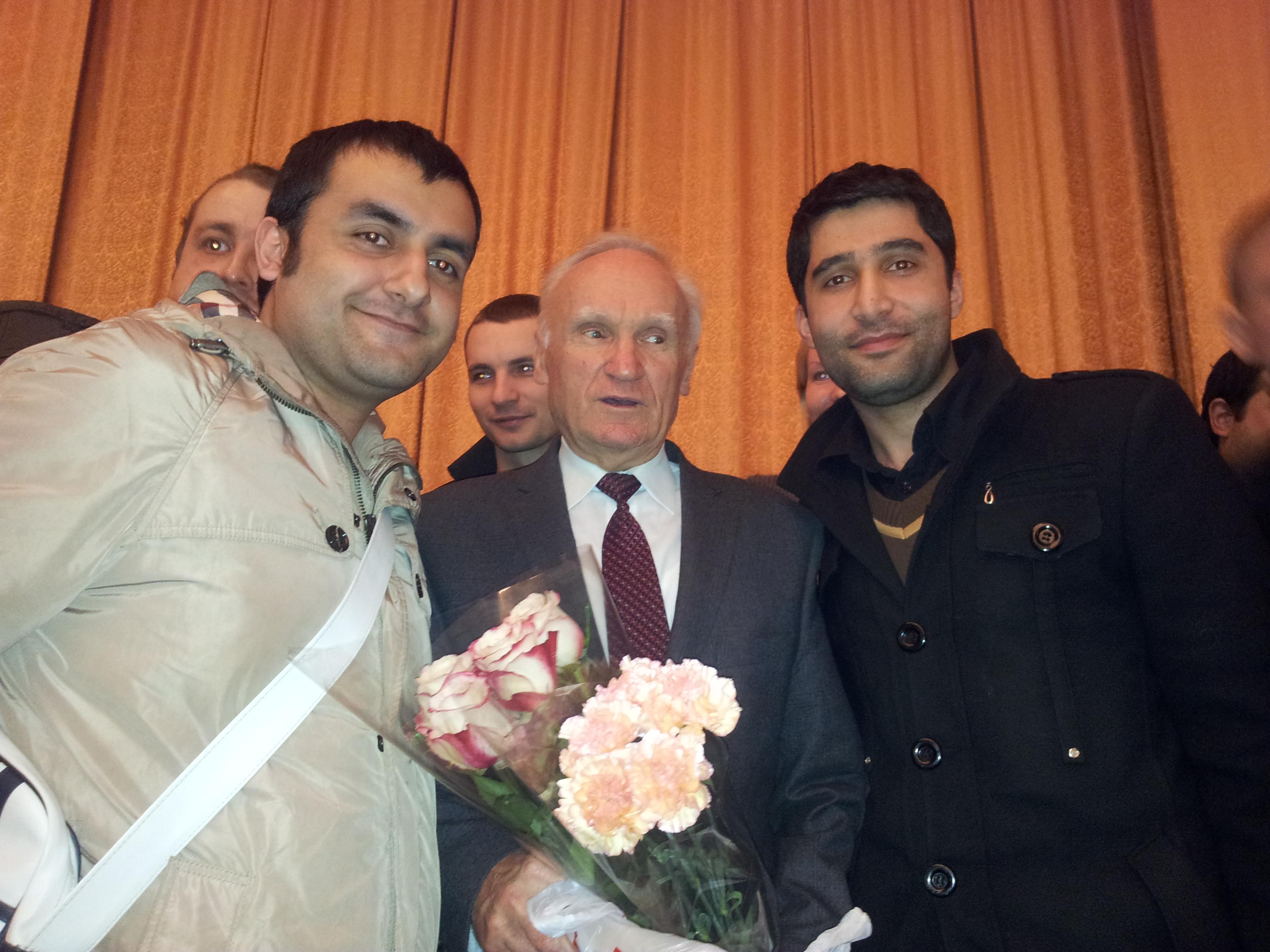 Георгий Кашахи, проф. Осипов, Серафим маамди