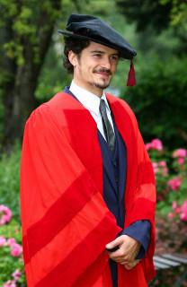 Orlando honorary degree at Canterbury, July 2010