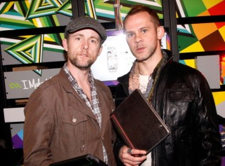 Dom and Billy at some event