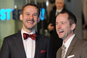 2012-12-12 Dom and Billy at The Hobbit premiere London