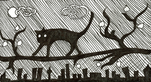 Mowidra_The Cat and the City
