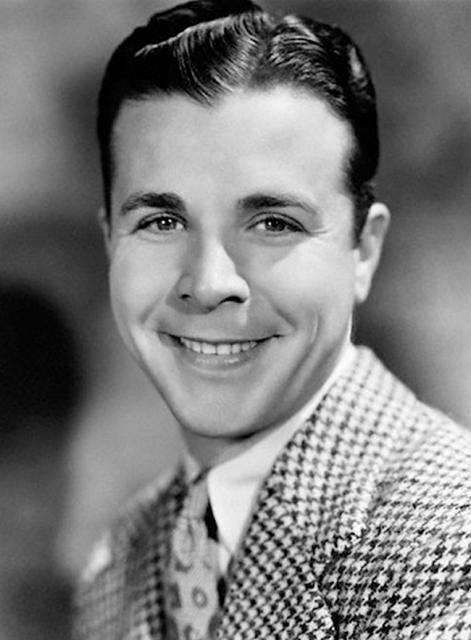 Actor dick powell with his wife actress june allyson