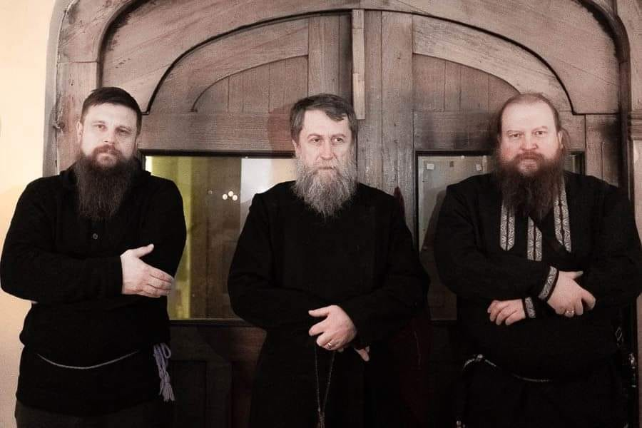 Богоявление у староверов на Тверской заставе.