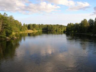 А рыбалка на реке кюмийоки в финляндии