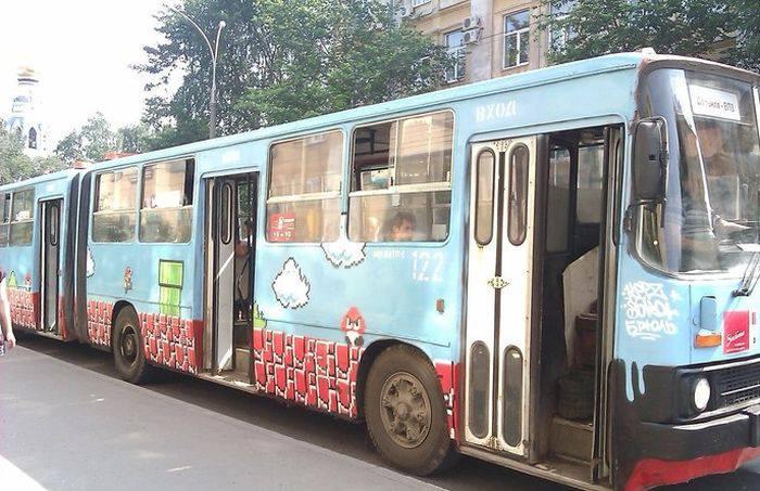 Mario-автобус