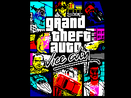 GTA 5 - ZX Spectrum edition
