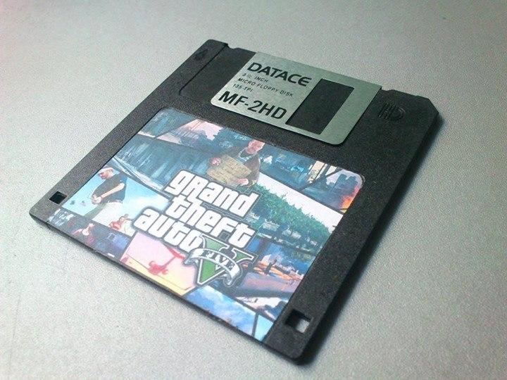 GTA floppy disk