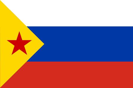 Проект нового флага Москвы: Эстекада